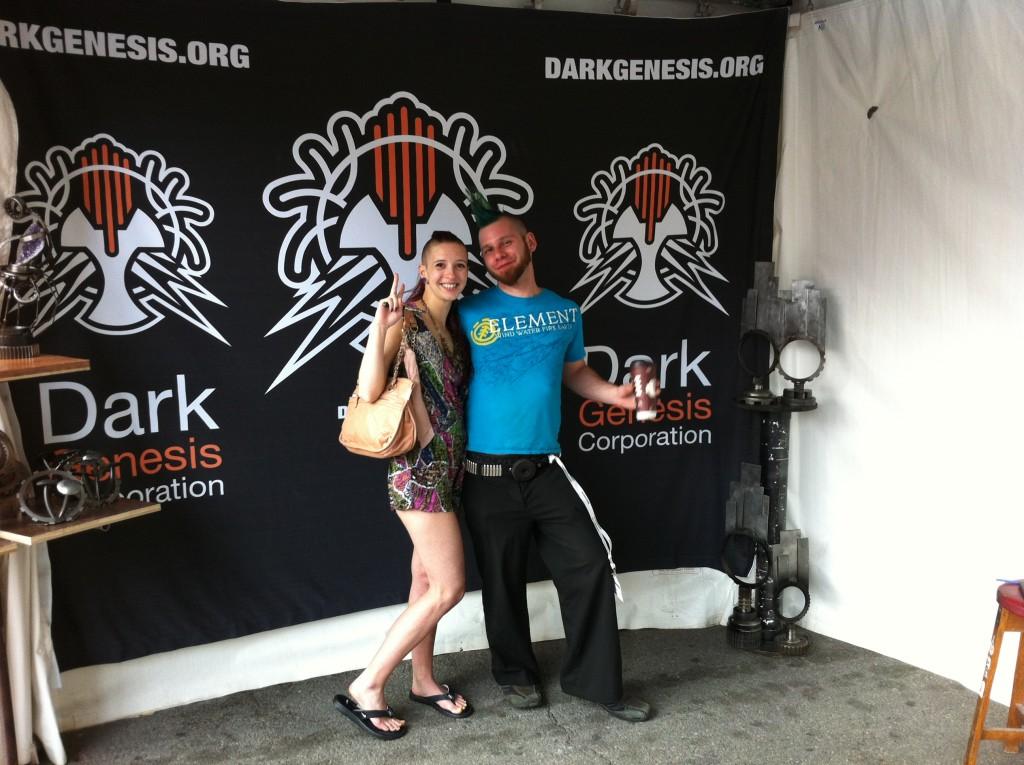 Amanda, and Chris of Dark Genesis Corporation.