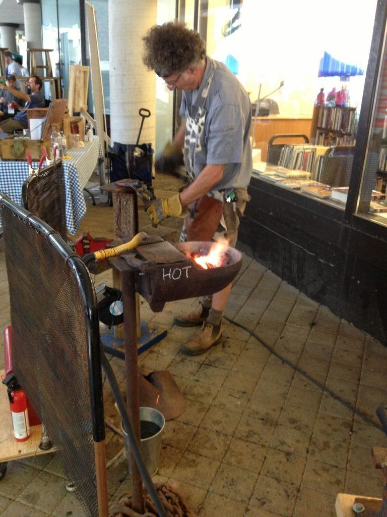 blog tick tock tom scrap metal sculpture